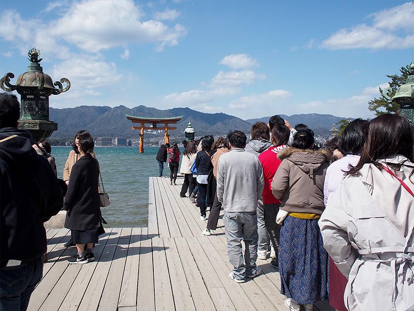 厳島神社の撮影スポット