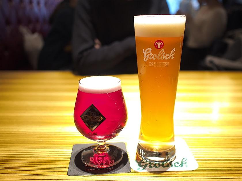 BIER LOVENのビールメニュー