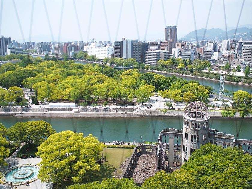 広島観光おりづるタワー